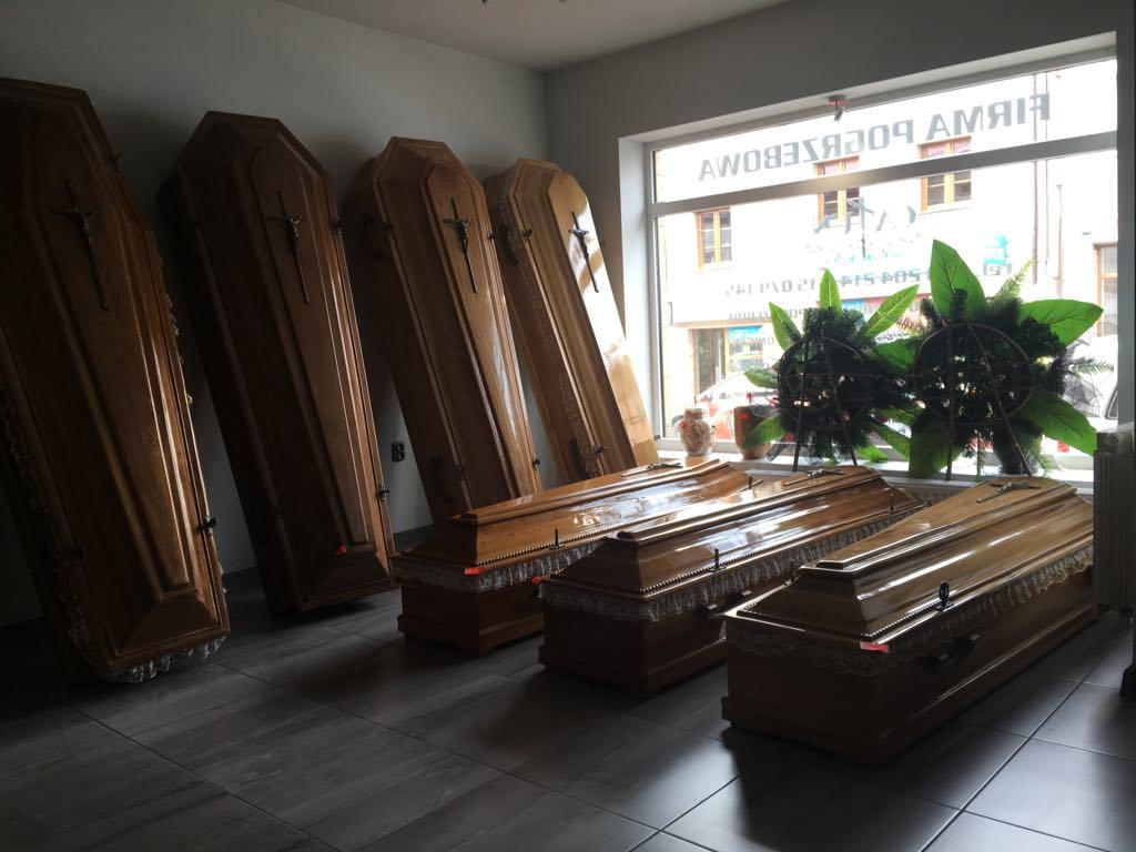 Całun - Zakład Pogrzebowy Wolbrom